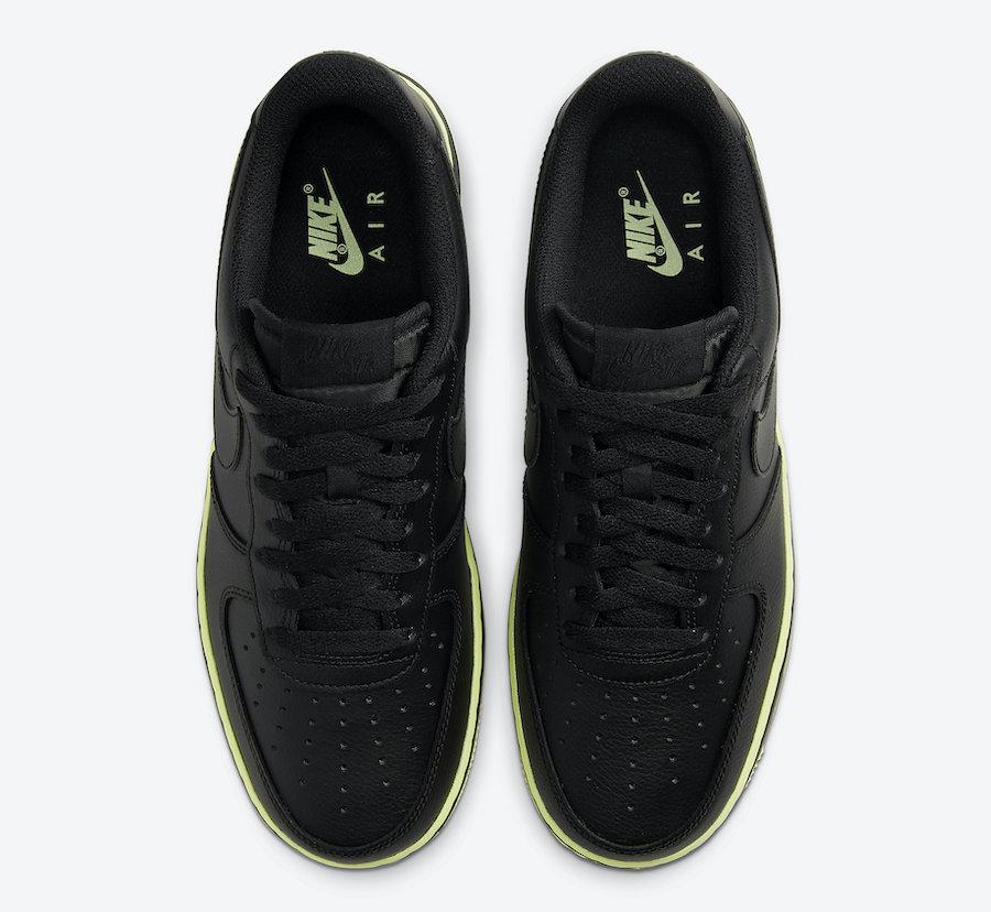 Nike Air Force 1 Low Black Volt CJ1393-003 Release Date Info