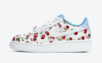 Nike Air Force 1 Low GS Cherry CJ4094-100 Release Date Info