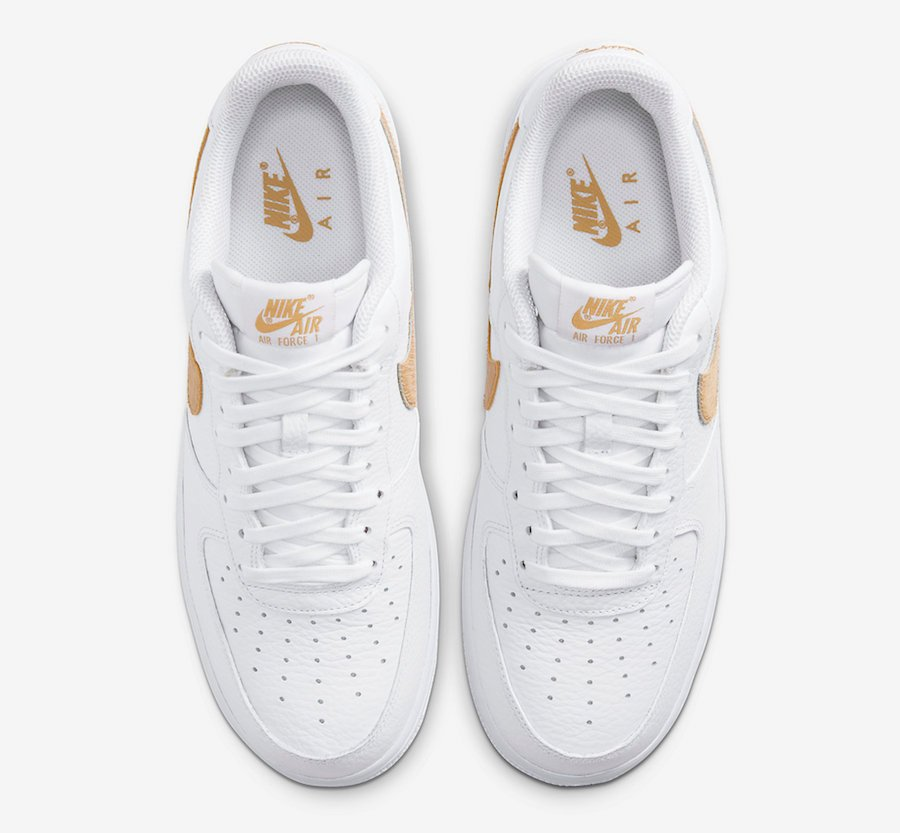Nike Air Force 1 Low Hairy Swoosh CW7567-101 Release Date Info