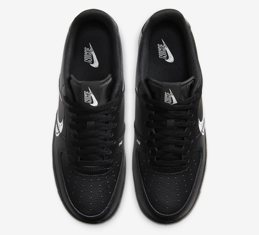 Nike Air Force 1 Low Sketch Pack CW7581-001 Release Date Info