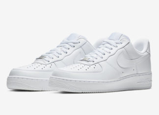Nike Air Force 1 Low Triple White 315115-112 Release Date Info