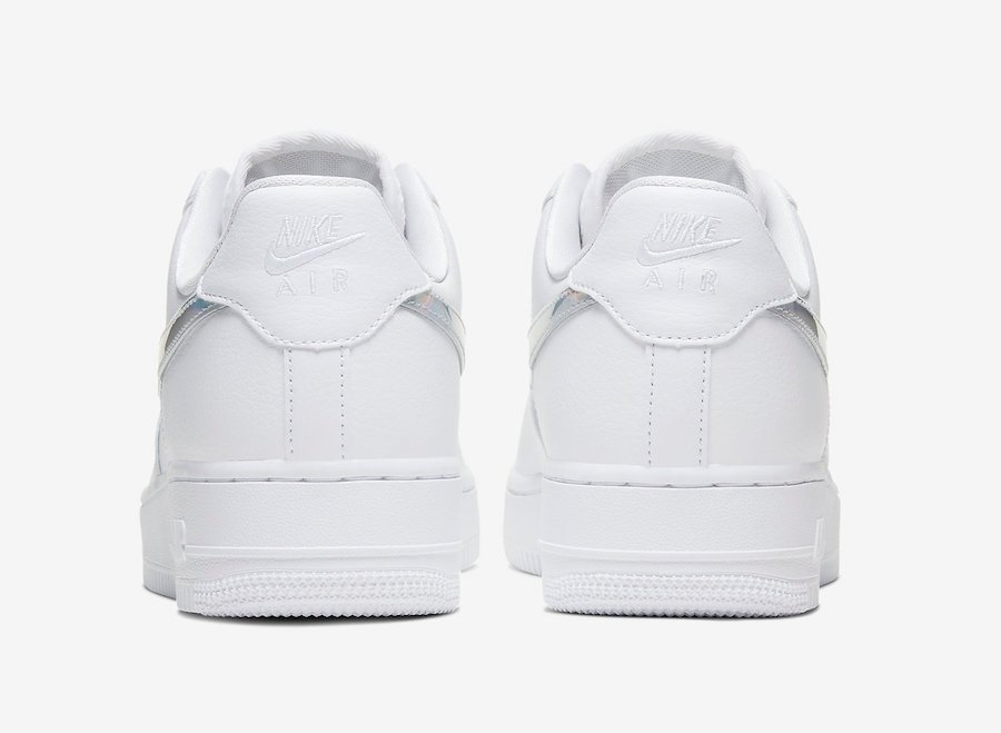 Nike Air Force 1 Low White Iridescent CJ1646-100 Release Date Info