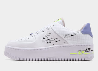 Nike Air Force 1 Sage White Purple Volt CU4770-100 Release Date