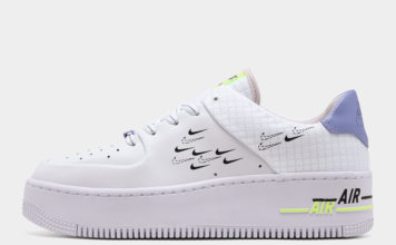 Nike Air Force 1 Sage White Purple Volt CU4770-100 Release Date