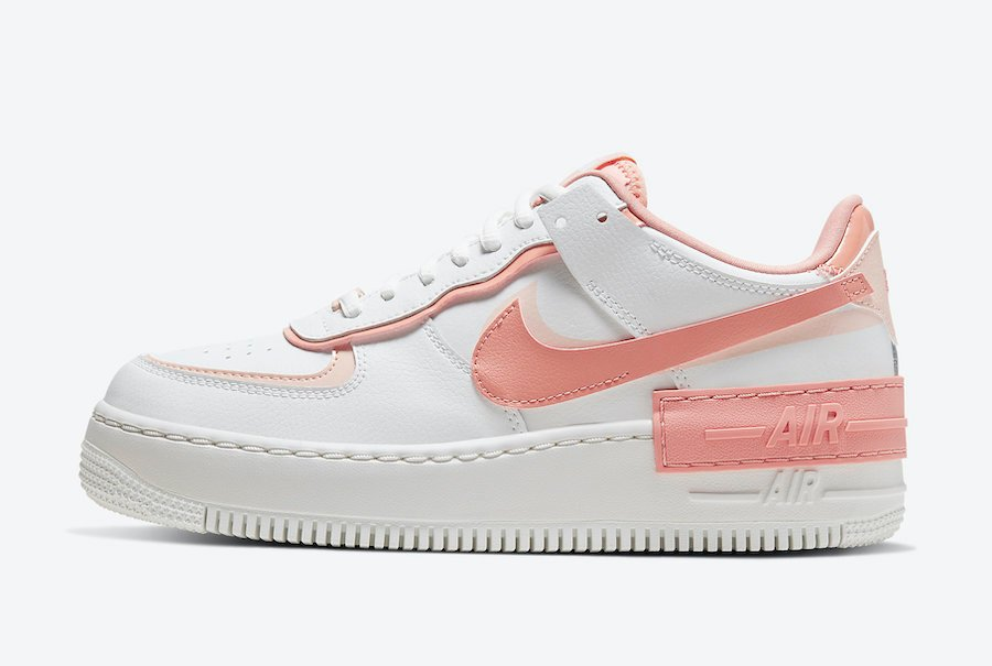 air force 1 rosa chiaro