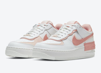 Nike Air Force 1 Shadow White Pink CJ1641-101 Release Date Info