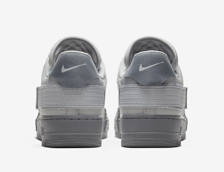 Nike Air Force 1 Type Grey Fog CT2584-001 Release Date Info