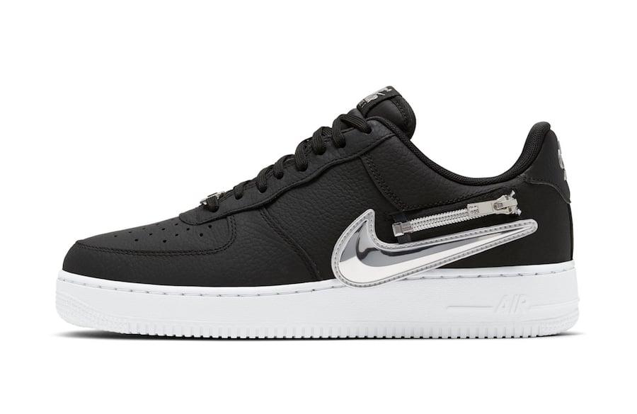 Nike Air Force 1 Zip-On Swoosh Logo Release Date Info