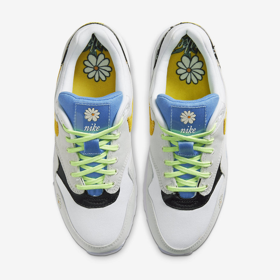 Nike Air Max 1 CW5861-100 Daisy Pack Release Date Info