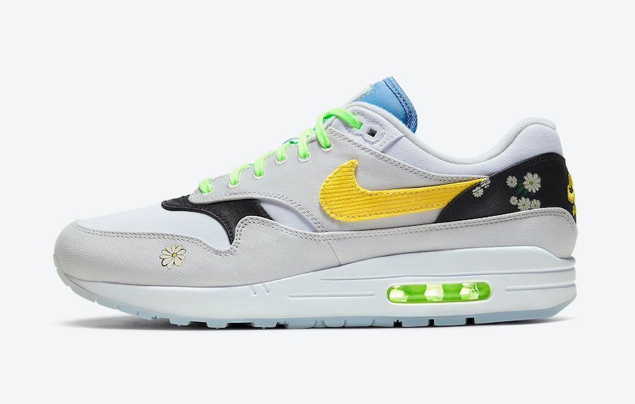 Nike Air Max 1 Daisy CW6031-100 Release Date