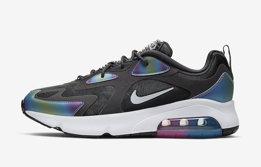 Nike Air Max 200 Black Bubble Pack CT5062-001 Release Date Info