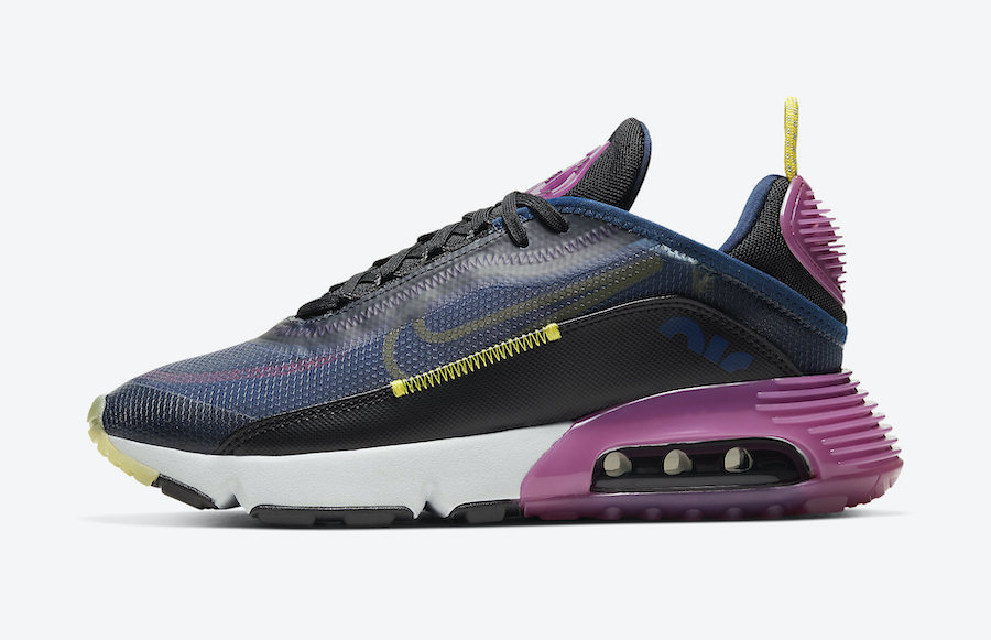 Nike Air Max 2090 Navy Magenta Yellow CK2612-400 Release Date Info