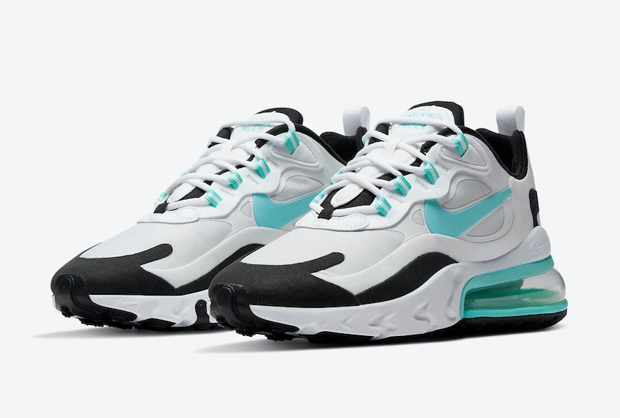 Nike Air Max 270 React Aurora Green CJ0619-001 Release Date Info