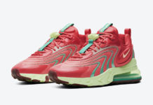 Nike Air Max 270 React ENG Watermelon CJ0579-600 Release Date Info