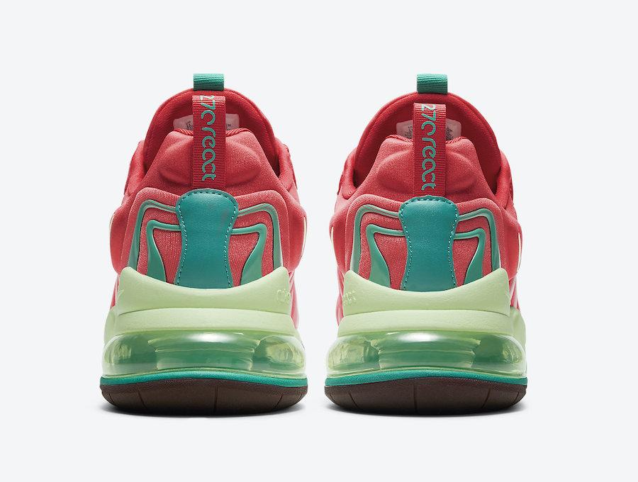 Nike Air Max 270 React ENG Watermelon CJ0579-600 Release Date Info