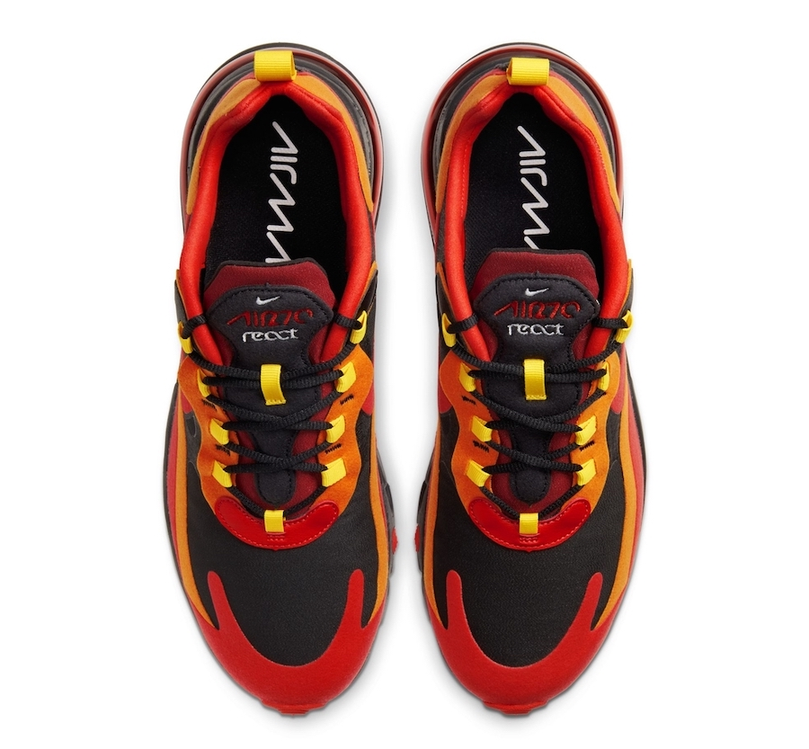 Nike Air Max 270 React Lava Release Date Info