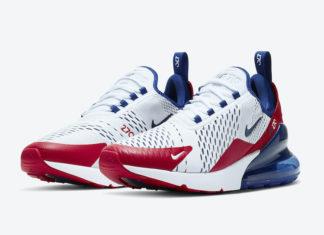 Nike Air Max 270 USA CW5581-100 Release Date Info
