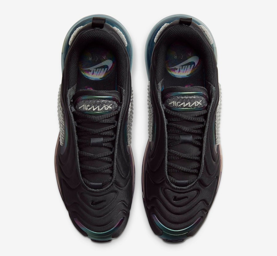 Nike Air Max 720 Black Bubble Pack CT5229-001 Release Date Info