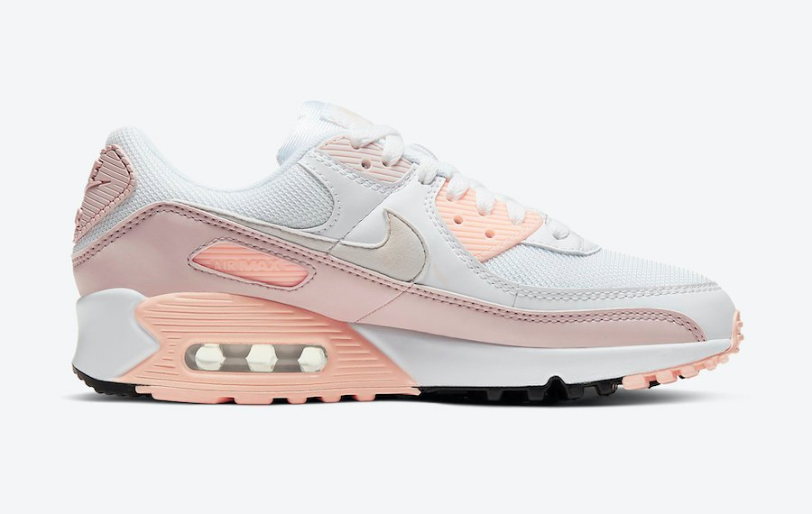 Nike Air Max 90 Barely Rose CT1030-101 Release Date Info