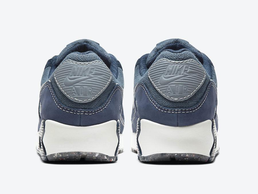 Nike Air Max 90 Cork Blue CW6208-414 Release Date Info