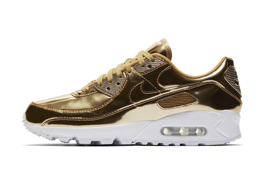 Nike Air Max 90 Gold Metallic Pack