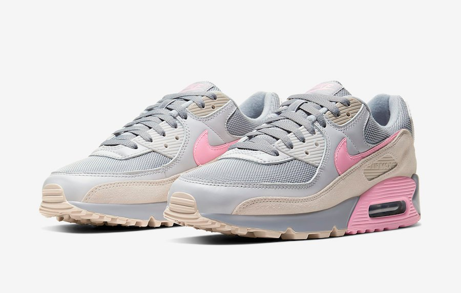 Nike Air Max 90 suede, mesh and leather sneakers in 2020
