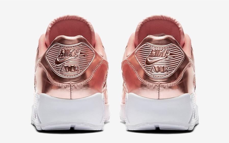 Nike Air Max 90 Rose Gold Metallic Pack CQ6639-600 Release Date Info