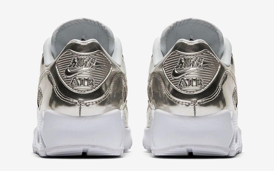 Nike Air Max 90 Silver Metallic Pack CQ6639-001 Release Date Info