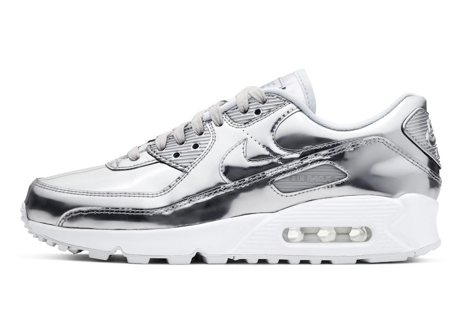 Nike Air Max 90 Silver Metallic Pack