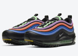 Nike Air Max 97 Black Multicolor CW6028-001 Release Date Info