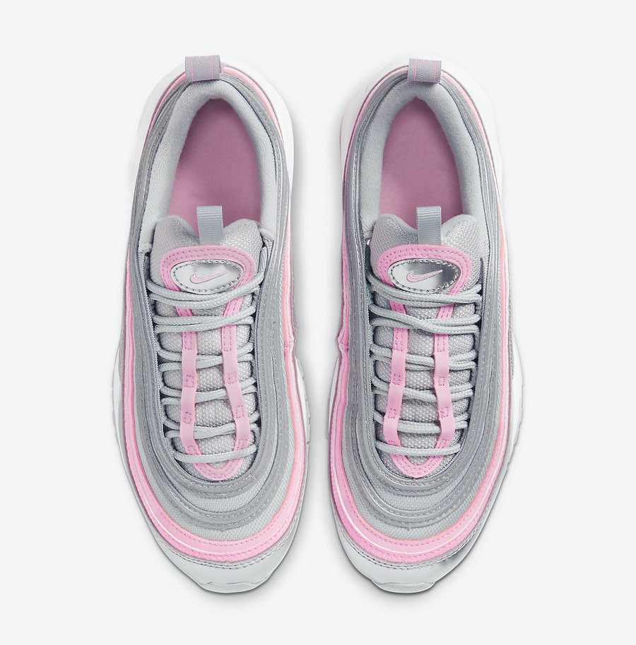 Nike Air Max 97 GS Silver Pink 921522-021 Release Date Info