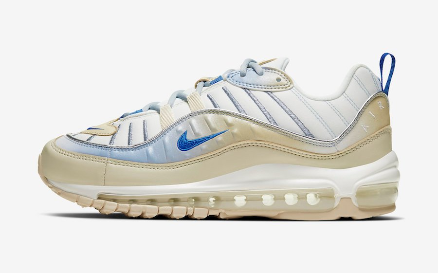 Nike Air Max 98 Tan Blue CD0685-200 Release Date Info