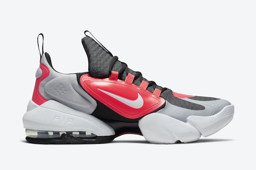 Nike Air Max Alpha Savage Wolf Grey Laser Crimson AT3378-060 Release Date Info