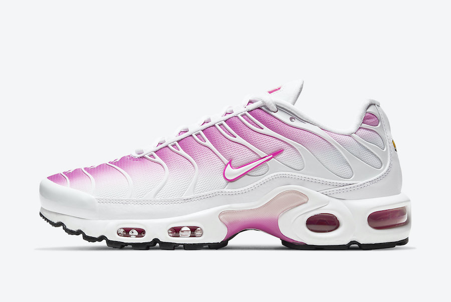 Nike Air Max Plus White Pink CZ7931-100 Release Date Info