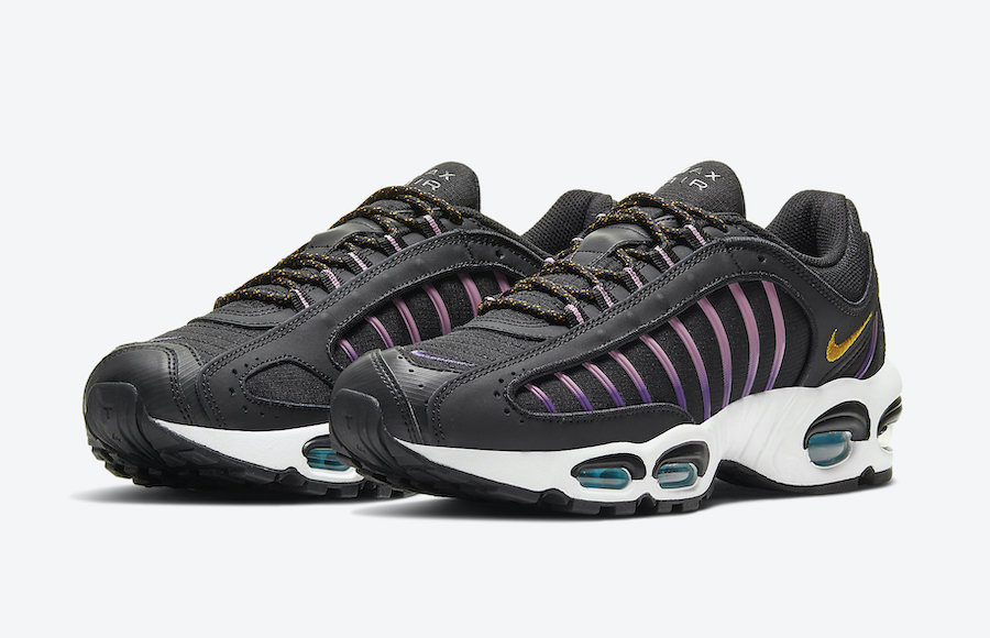 Nike Air Max Tailwind 4 SE ACG Black Pollen Rise Voltage Purple CU9240-001 Release Date Info