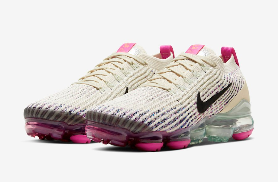 Nike Air VaporMax 3.0 Fossil Fire Pink AJ6910-201 Release Date Info