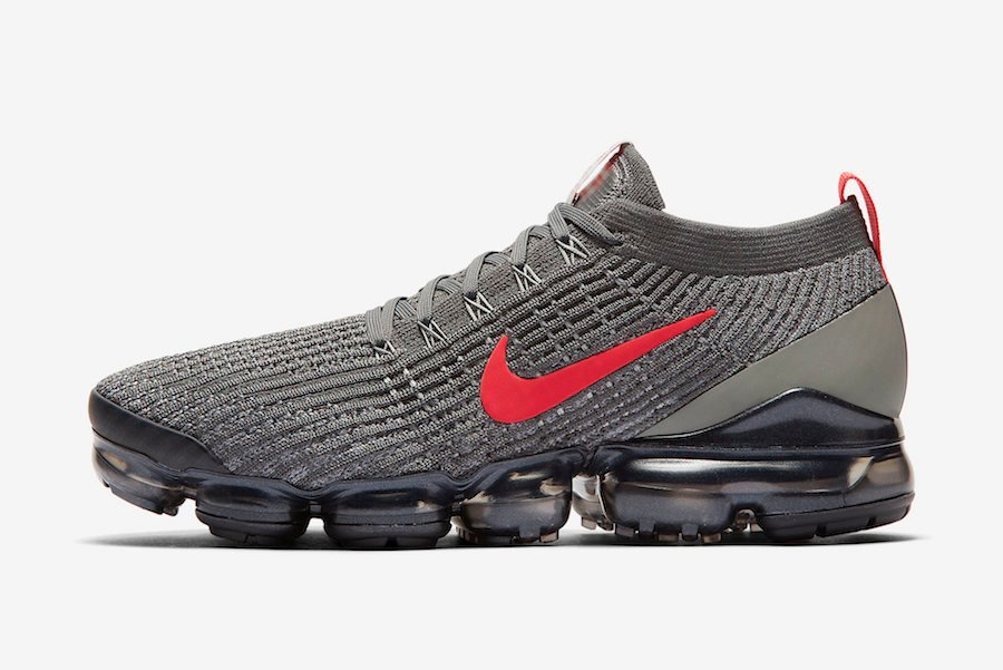 Nike Air VaporMax 3.0 Grey Crimson CT1270-001 Release Date Info