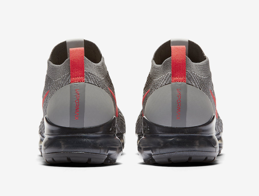 Nike Air VaporMax 3.0 Grey Crimson CT1270-001 Release Date Info