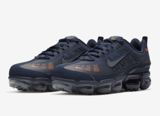 Nike Air VaporMax 360 Obsidian Total Orange CW7480-400 Release Date Info