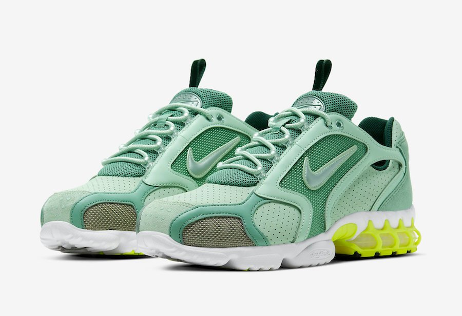 Nike Air Zoom Spiridon Caged Pistachio Frost CW5376-301 Release ...