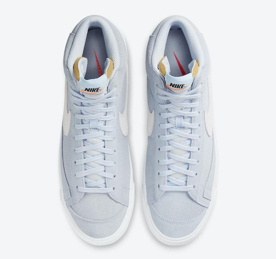 Nike Blazer Mid 77 Suede Hydrogen Blue CI1172-401 Release Date Info
