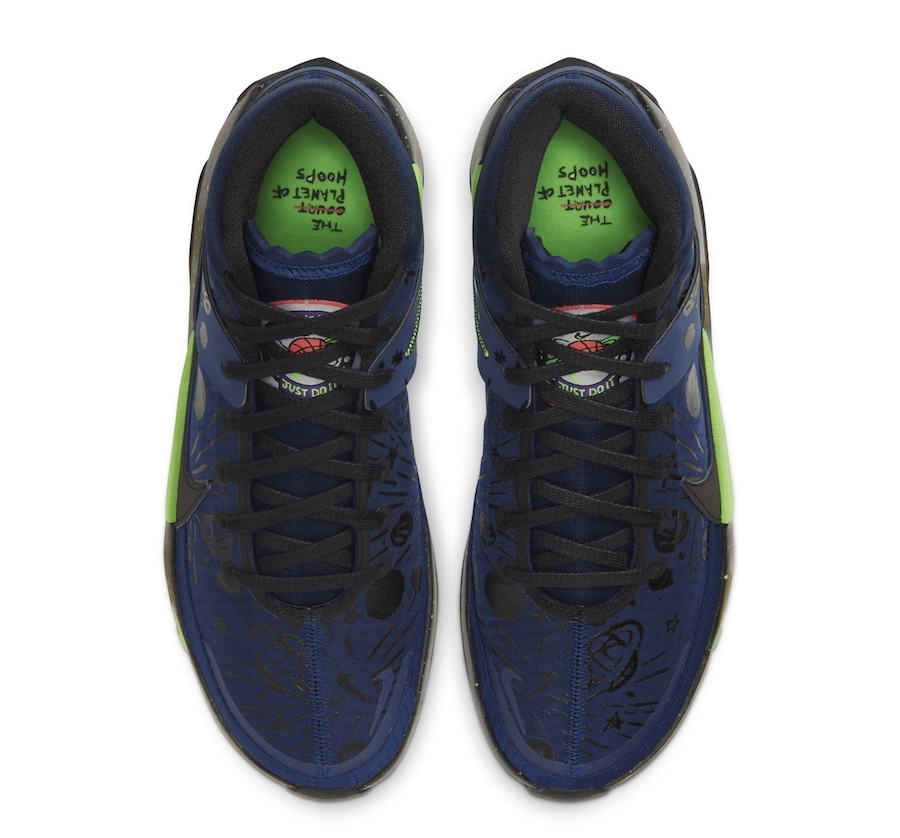 Nike KD 13 The Planet of Hoops CI9948-400 Release Date Info