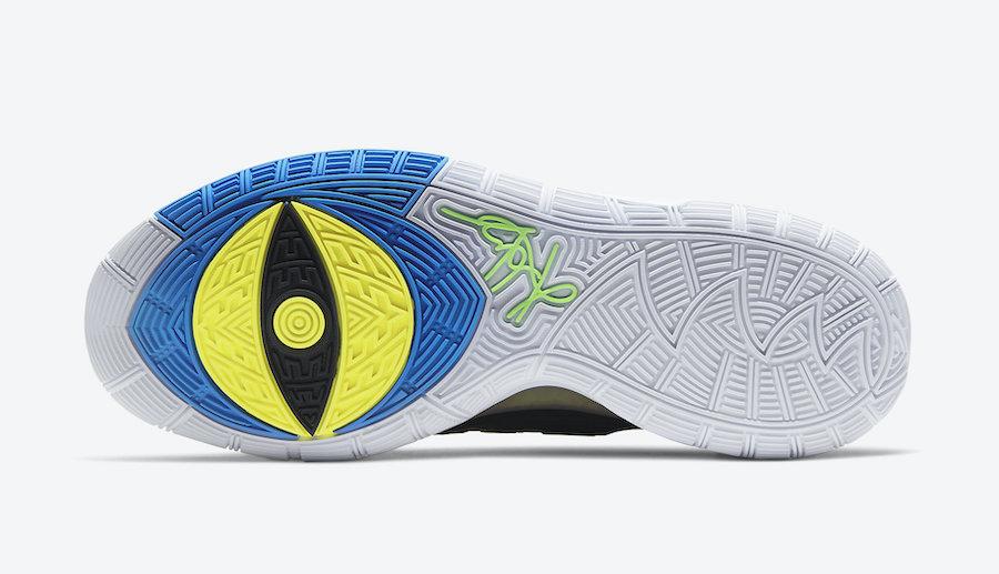 Nike Kyrie 6 Black White Soar Dynamic Yellow BQ4630-004 Release Date Info