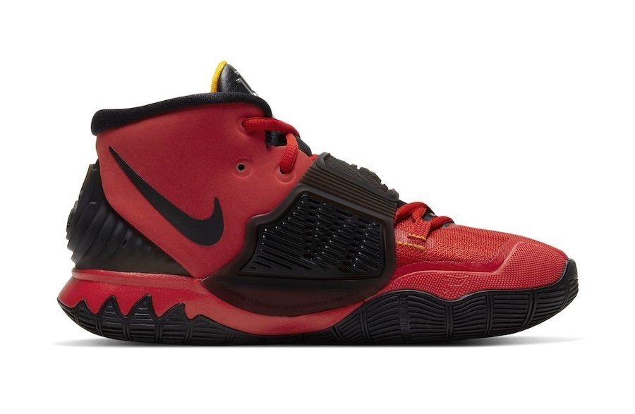 Nike Kyrie 6 GS Bruce Lee Red Release Date
