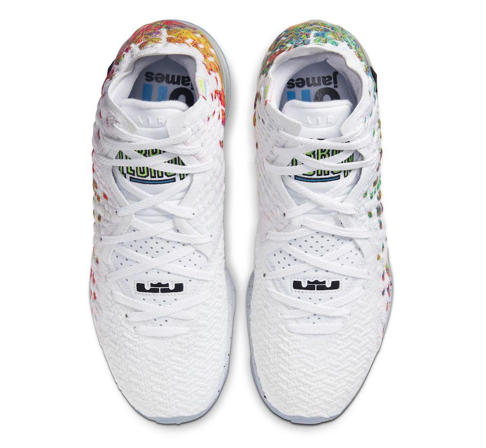 Nike LeBron 17 Command Force BQ3177-100 Release Info