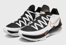 Nike LeBron 17 Low White Black Metallic Gold CD5007-101 Release Date