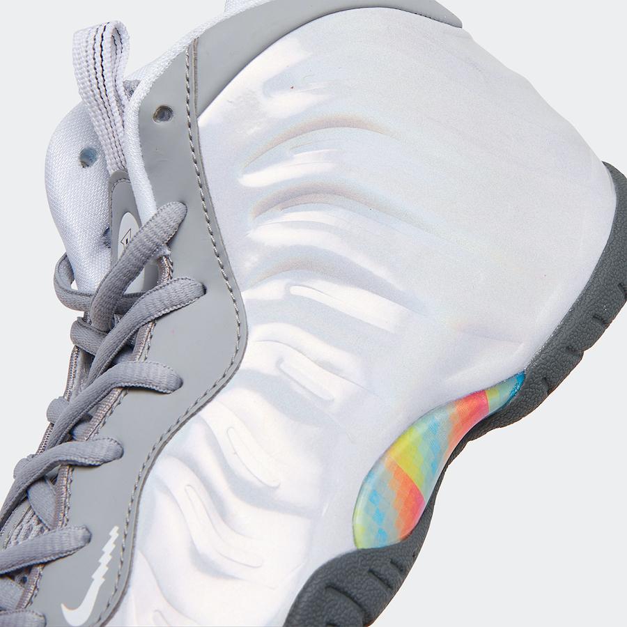 Nike Little Posite One Rainbow Pixel CU1054-001 Release Date Info