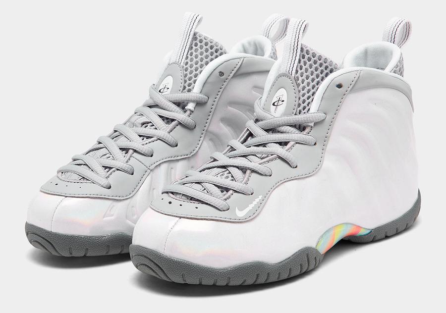 Nike Little Posite One Rainbow Pixel