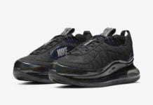 Nike MX 720-818 Black Metallic Blue CW8039-001 Release Date Info