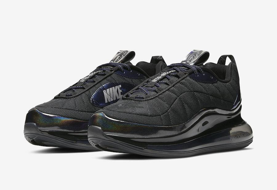 Nike MX 720-818 Black Metallic Blue CW8039-001 Release Date Info